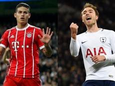 Dos estrellas que apuntan al Atlético. EFE