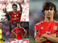 Benfica-Atlético, un pont aérien de 240millions. Collage/EFE/AFP