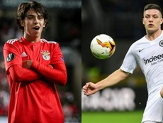 Real Madrid espiou João Félix e Luka Jovic na Luz. AFP