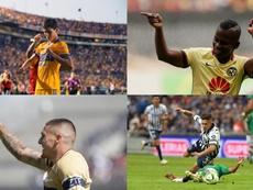 Algunos de los fichajes más caros de la Liga Mexicana. EFE
