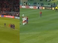 Thiago y una jugada hecha con Canales en 2010. Captura/Movistar/OrangeSport