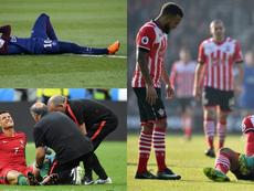 Las lesiones más graves de los futbolistas 'top' en la última década. AFP/EFE