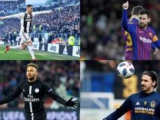 Les joueurs qui ne sont jamais venu. EFE/AFP