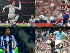 Les défenseurs les plus chers du football. AFP/EFE