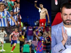Las revelaciones de este inicio de Liga. Collage/EFE/AFP