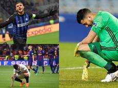 Le gros onze des joueurs de l'Argentine qui n'iront pas à la Copa América. EFE