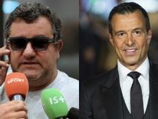 Raiola y Mendes, los agentes más poderosos. AFP/EFE