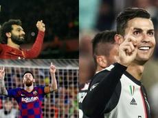 Estos son los nominados a los Globe Soccer Awards. EFE/AFP