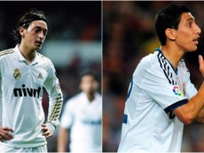 Mesut Ozil and Angel Di Maria both would like to return to former club Real Madrid. EFE