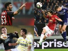 Cutrone podría dejar Milán; Darmian y Olmo, aterrizar en la ciudad. EFE/AFP