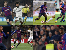 Barça starts off with a lot of uncertainty within the squad. Collage/EFE/AFP