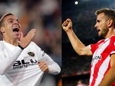 Rodrigo y Stuani, prioridades del Barcelona. EFE