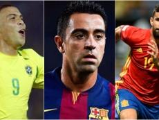 Ronaldo, Xavi et Diego Costa sont revenu de loin. Besoccer