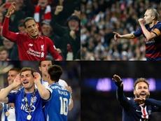 Los mejores de la década, según 'France Football'. AFP/EFE