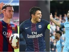 Vermaelen, Thiago Silva y Agüero, jugador con cláusulas sorprendentes. BeSoccer