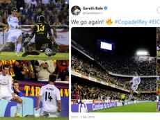 Bale destrozó al Barcelona en Mestalla. Collage/GarethBale