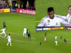 Modric cerró la cuenta del Madrid. Captura/beINSports