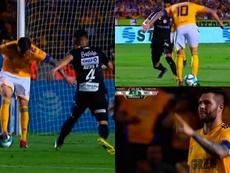 Gignac firmó un golazo ante Necaxa. Captura/Univision