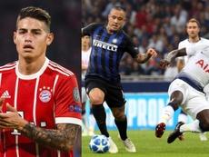 Mucho talento colombiano en Champions. EFE
