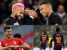 La efectividad goleadora de las grandes ligas, a examen. AFP/EFE