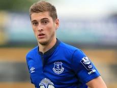 Grant jugará en el equipo Sub 23 del Everton. AFP