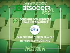 Consigue con BeSoccer una entrada doble de cuartos de final 'play off' de título LNFS