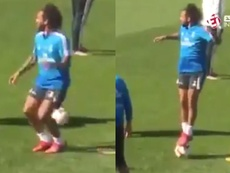 Marcelo sigue siendo Marcelo. Captura/EsporteInterativo