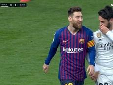 ¿Qué le confesó Isco a Messi? Desvelan una posible versión. Captura/MovistarPartidazo