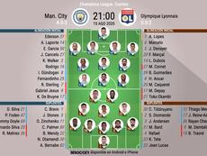 Manchester City o Lyon jugarán las semifinales ante el Bayern. AFP