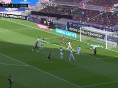 Both keepers made great saves. Screenshot/Movistar+LaLiga