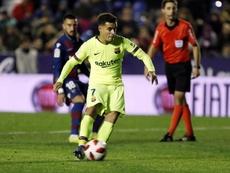 Coutinho titulaire contre Séville. FCBarcelone