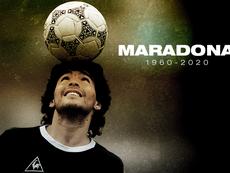 Décès de la légende argentine Diego Maradona. BeSoccer
