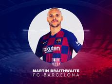 Martin Braithwaite, nuevo jugador del Barcelona. BeSoccer