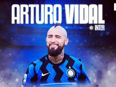 Arturo Vidal agora é da Inter de Milão. BeSoccer
