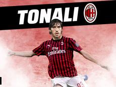 OFICIAL: el Milan ficha a Tonali. BeSoccer