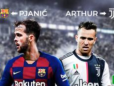 A troca Arthur-Pjanic foi oficializada. BeSoccer