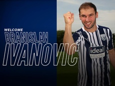 Ivanovic regresa a la Premier League. Twitter/WBA