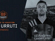 Urruti tiene contrato para esta temporada. HoustonDynamoFC