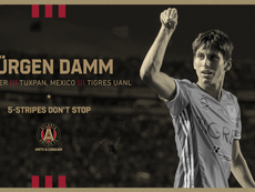 Jürgen Damm se fue a la MLS. Twitter/ATLUTD