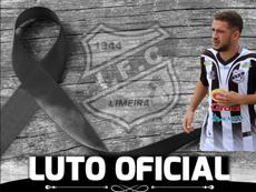 Kaio Felipe, da Inter de Limeira, morre eletrocutado. Independiente de Limeira
