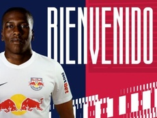 Boca manda a Jan Hurtado cedido a Red Bull Bragantino. Twitter/RedBullBraga