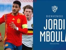 Mboula llega a la SD Huesca como cedido. SDHuesca
