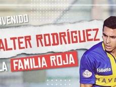 Walter Rodríguez ficha por DIM. Twitter/DIM_Oficial