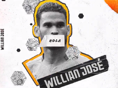 Willian José signs for Wolves. Wolves