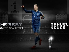 Neuer, The Best a mejor portero 2020. FIFA