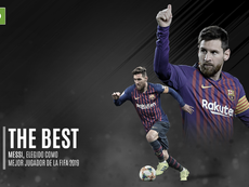 Messi gana el 'The Best'. BeSoccer