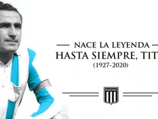 Juan José Pizzutti falleció este viernes. Twitter/RacingClub