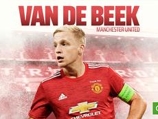 Van de Beek assina com o Manchester United. BeSoccer
