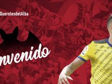 Querol llega al Albacete. Twitter/AlbaceteBPSAD