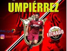 El Unión Viera ficha a Héctor Umpiérrez. CFUniónViera